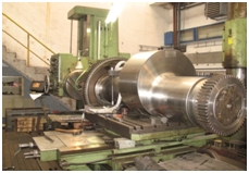 Oversized and heavy heavy parts machining